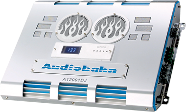 Audiobahn A12001DJ 1500W Mono Amplifier