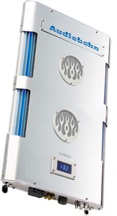 Audiobahn A16000J 1800W Intake Series Mono Amplifier