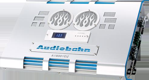 Audiobahn A18001DJ 2500W Mono Amplifier