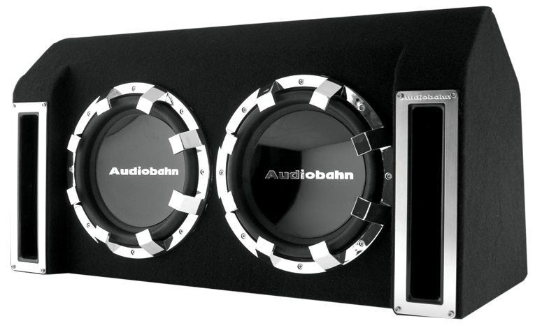 Audiobahn ABB122J Twin Slot Ported Bass Enclosure