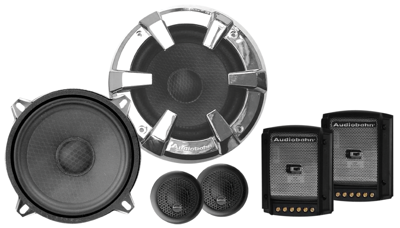 Audiobahn ABC525J Component Speaker System