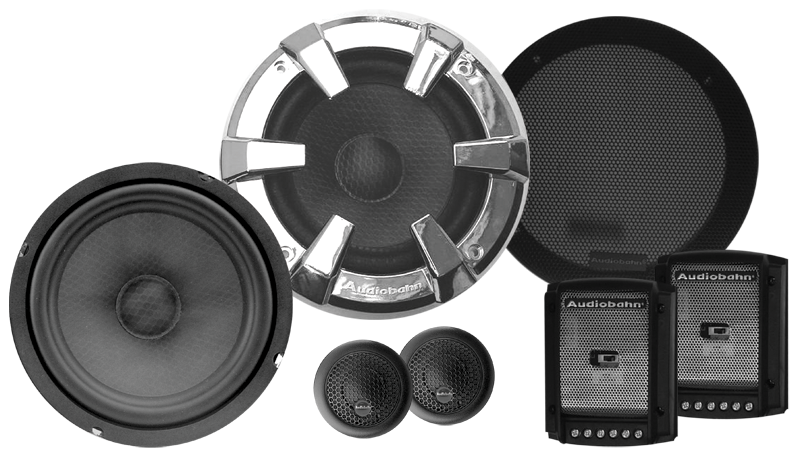 Audiobahn ABC600J Component Speaker System