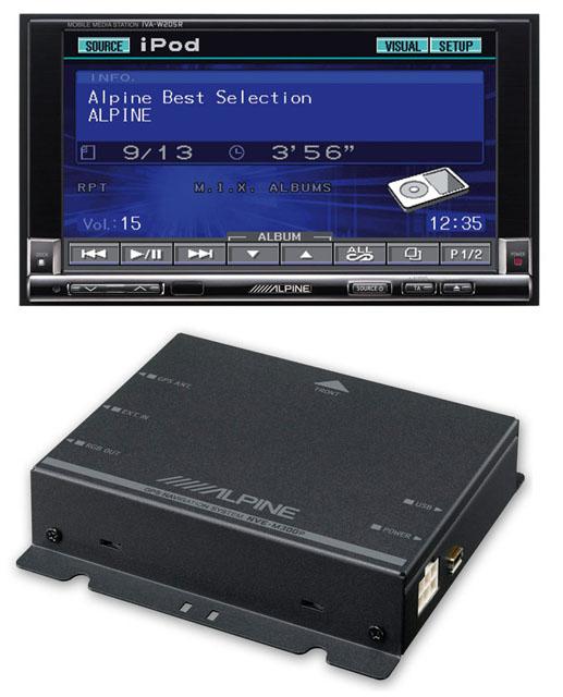 Alpine IVA-W205R & NVE-M300P Navigation Package