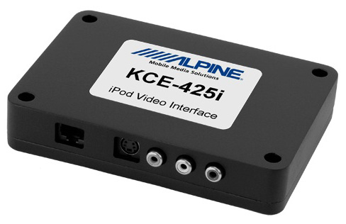 Alpine KCE-425i Video iPod Interface
