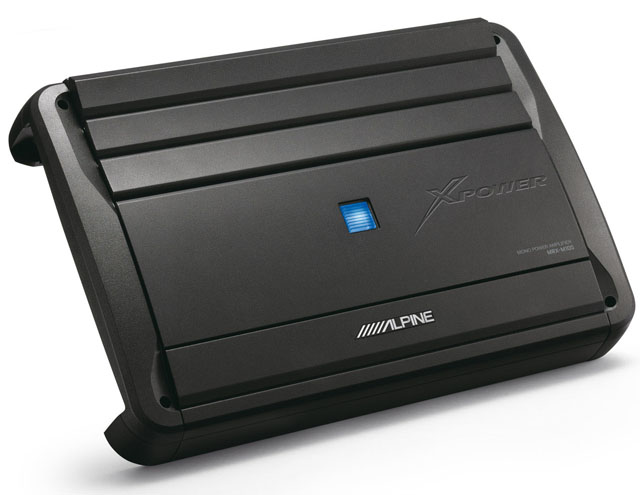 Alpine MRX-M100 1000W Mono Amplifier