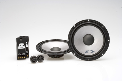 Alpine SPE-17SF Shallow Mount Component Speakers