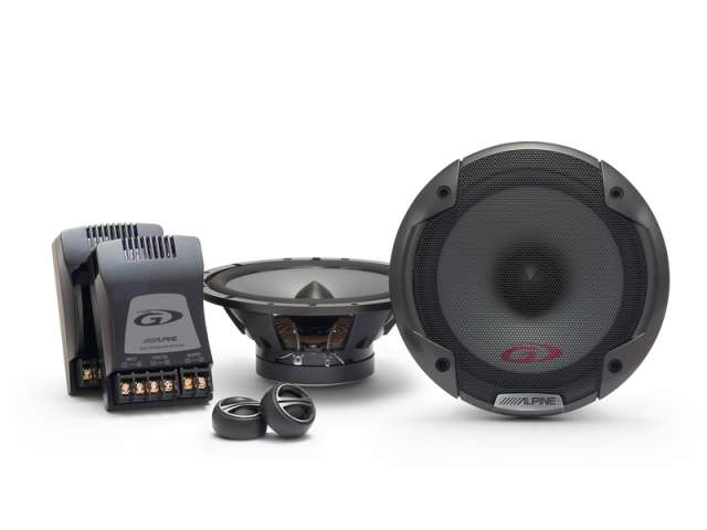 Alpine SPG-17CS 2 Way Component Speaker System