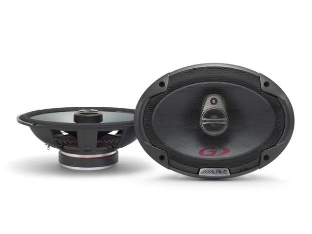 Alpine SPG-69C3 3 Way Coaxial Speaker System