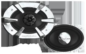 Audiobahn AS46J Custom Fit Coaxial Speaker System