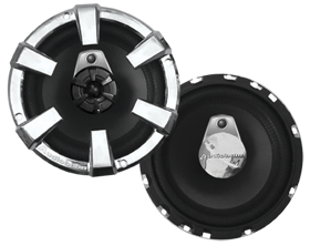 Audiobahn AS65J 3 Way Coaxial Speaker System