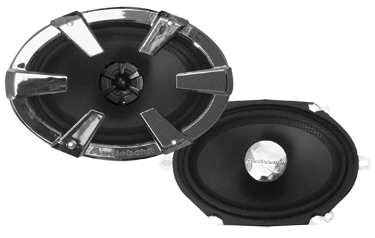 Audiobahn AS68J 2 Way Coaxial Speaker System