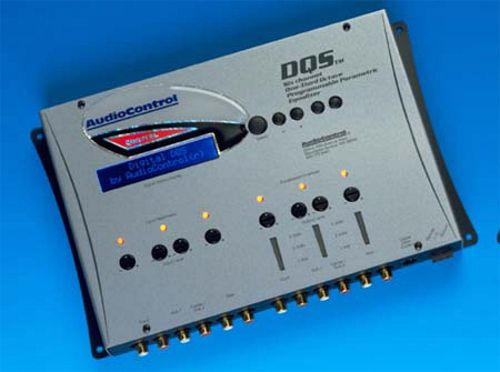 AudioControl DQS Six Channel Digital Equalizer