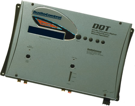 AudioControl DQT Digital Equalizer with Memory