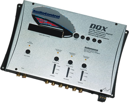 AudioControl DQX Stereo Digital Equalizer with Memory