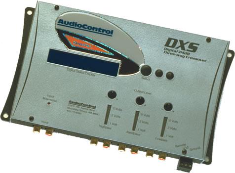 AudioControl DXS 24dB/Octave 3-Way Digital Crossover