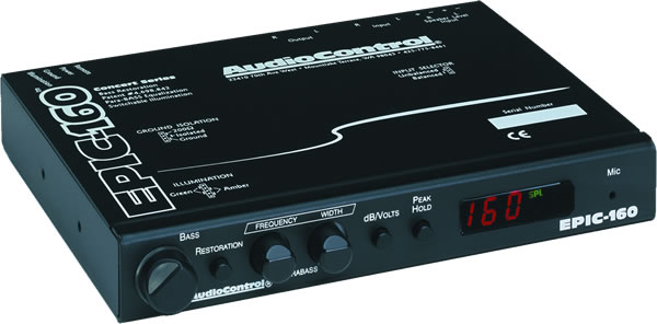 AudioControl EPIC 160 In-Dash Car Audio Bass Maximizer