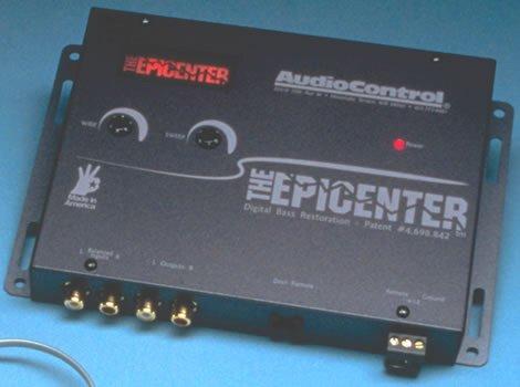 AudioControl The Epicenter Digital Bass Maximisation