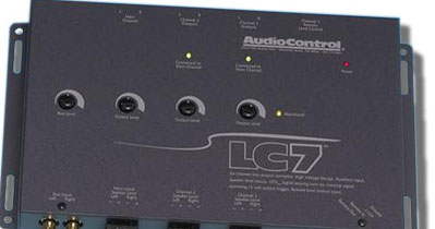 AudioControl LC7 6 Channel Line Output with AUX Input
