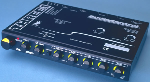 AudioControl Three.1i In-Dash Car Audio Equalizer and Crossover