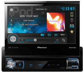 Pioneer AVH-X7500BT DVD\MP3\WMA Receiver With Bluetooth