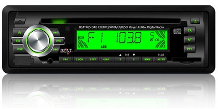 Beat 485 DAB CD/MP3/USB/DAB Receiver with Antenna