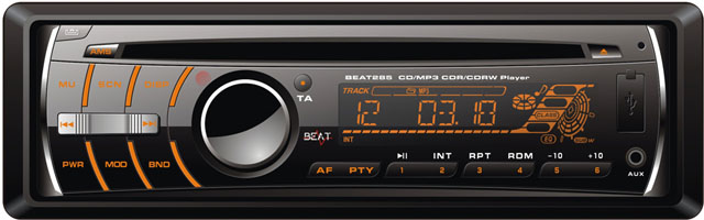 Beat 285 CD/MP3/USB/SD Player