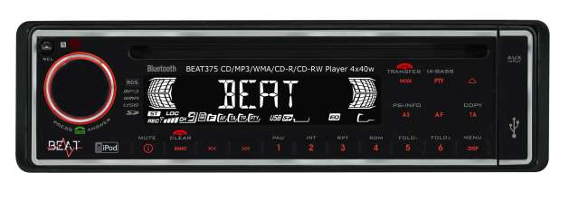 Beat 375 CD/MP3/SD Receiver With USB & Bluetooth