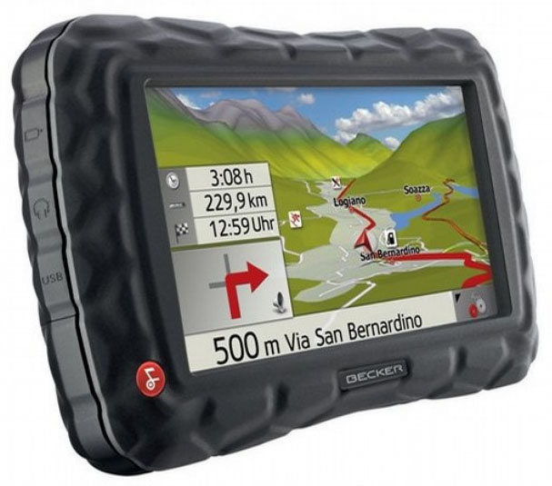 Becker Z100 Crocodile Traffic Assit Portable Navigation Unit