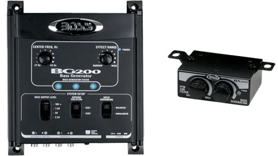 Boss Audio Systems BG200 Bass Generator with Volume Control