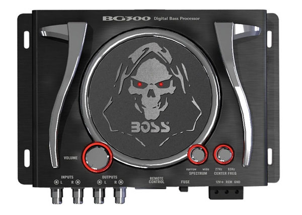 Boss Audio Systems BG300 Bass Generator with Controller