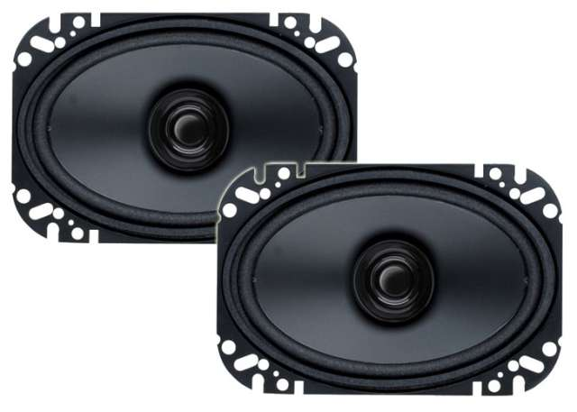 Boss Audio BRS46 Dual Cone Coaxial Speaker System