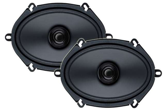 Boss Audio BRS5768 2 Way Coaxial Speaker System