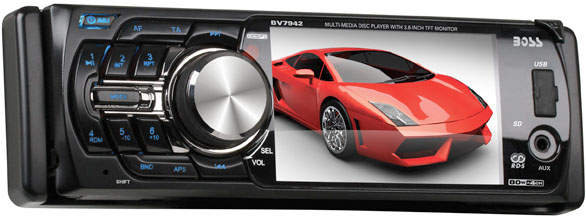 Boss Audio BV7940 CD/MP3/DVD/SD Receiver with USB Input