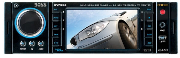 Boss Audio BV7965 CD/MP3/USB/SD Receiver with DVD Playback