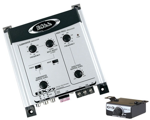 Boss Audio System BX25 2-Way Electronic Crossover