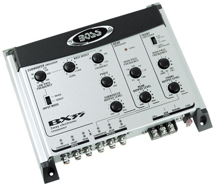 Boss Audio Systems BX35 3-Way Electronic Crossover