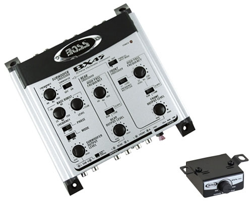 Boss Audio Systems BX45 2/3-Way Electronic Crossover