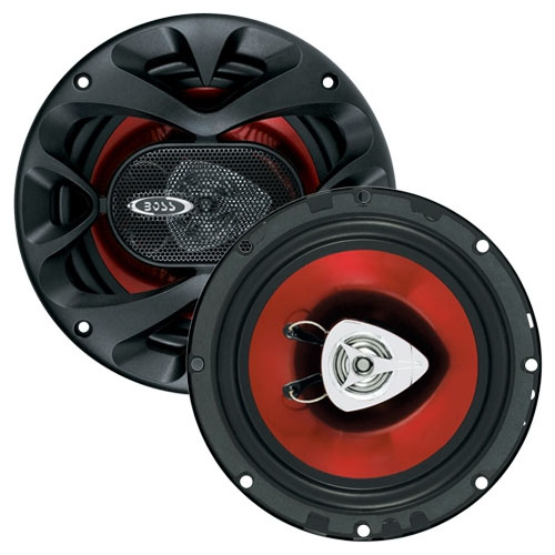 Boss Audio CH6500 2 Way Coaxial Speaker System Shallow Mount