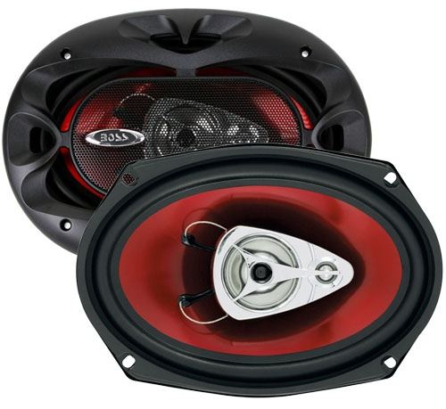 Boss Audio CH6930 3 Way Coaxial Speaker System