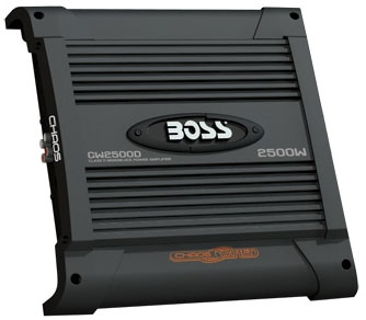 Boss Audio CW2500D 2500W Mono Amplifier