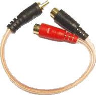 Boss Audio Systems CY2F 2 Female - 1 Male Y lead