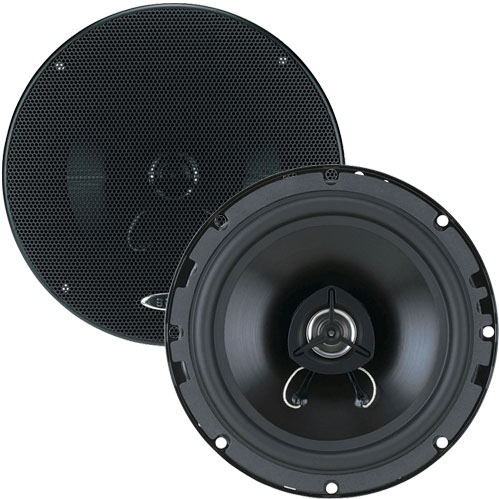 Boss Audio SE651S 2 Way Coaxial Speaker System Shallow Mount