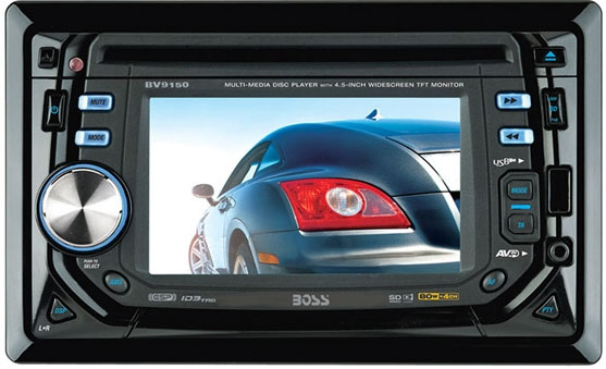 Boss Audio BV9150 Double Din CD/MP3 Receiver with DVD Playback