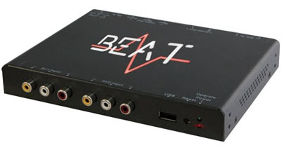 Beat DVB200 DVB-T Freeview Tuner With Ariels
