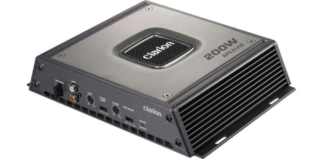Clarion APX2121E 200W 2/1 Channel Power Amplifier