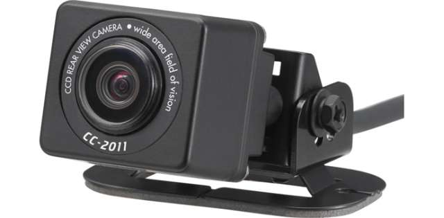 Clarion CC2011E Ultra Compact Colour CCD Camera Mirror Image