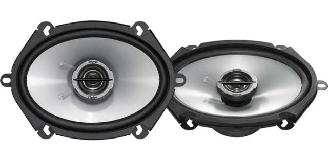 Clarion SRE5721C 2 Way Custom Fit Coaxial Speaker System