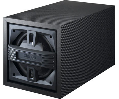 Clarion SRV202 150W Active Bass Enclosure