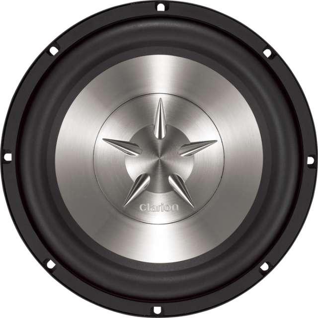 Clarion SW2512 600W Single 4-Ohm Voice Coil Subwoofer