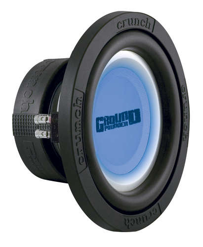 "Crunch GP12D4 12"" 1200W Subwoofer"